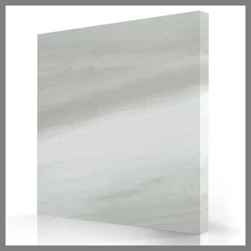 Silver White Marble Acrylic