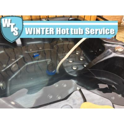 Winter Hot Tub Service