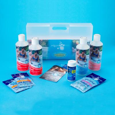 Aquasparkle Spa Starter Kit Chlorine Box of 4