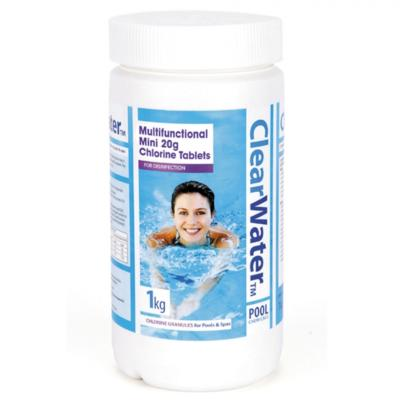 ClearWater 20G Multi-Function Chlorine Tablets 1KG