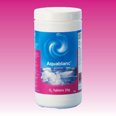 Aquablanc O2 Tablets 1kg
