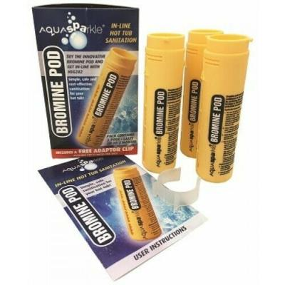 Aquasparkle Spa Bromine In-line filter pod (Pre-Filled)